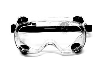 EMI # 414 Chemical Splash Goggle with Indirect Ventilation and Adjustable Strap