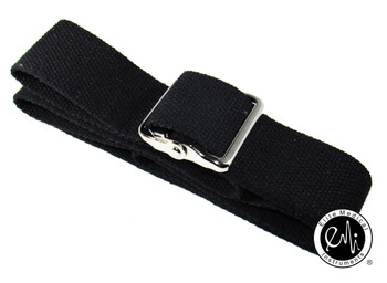 EMI Cotton Gait Transfer Belt - Black