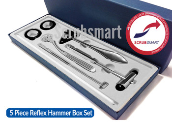 EMI Neurological Reflex Hammer 5 Piece Set