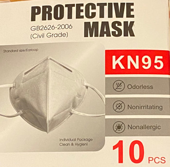 KN95 Disposable Face Mask - 30 pieces