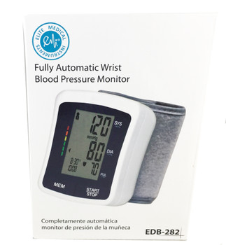 EMI Automatic Digital Wrist Blood Pressure Monitor EBD-282