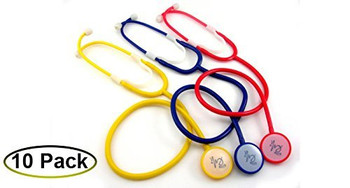 Disposable Stethoscope - 10 pack