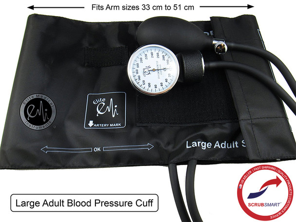 EMI Large Adult Blood Pressure Cuff