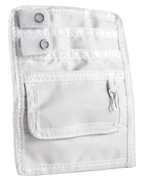EMI Nurse Nylon Scrub 5 Pocket Organizer Pal With Belt Loop