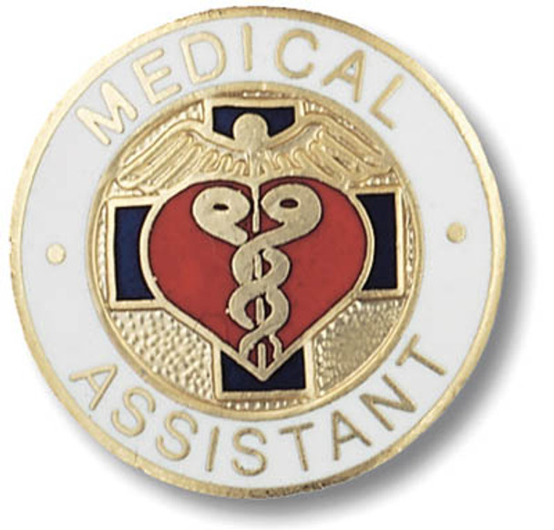 Medical Assistant Round Pin