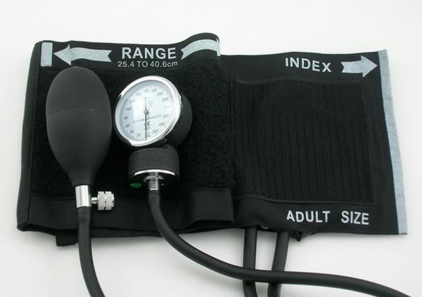 EMI Cotton Cuff Blood Pressure Monitor Set - Black