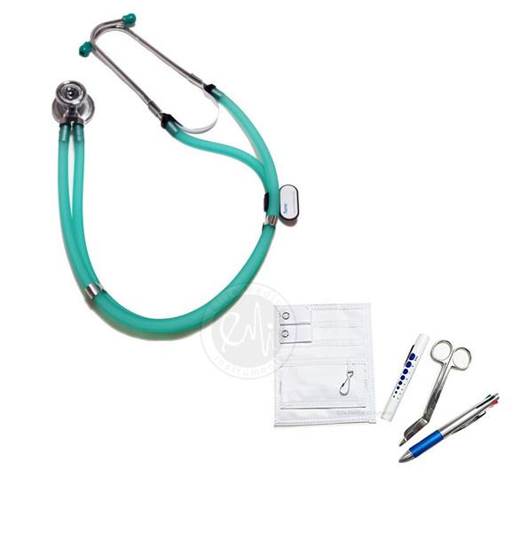 EMI 112-NK - Sprague Rappaport Stethoscope Set and Pocket Organizer Nurse Kit - Select Color