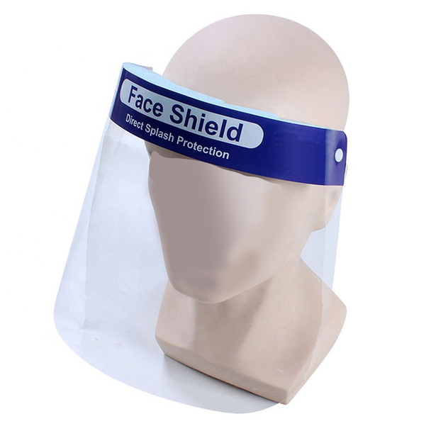 Head Band Elastic Face Safety Shield REUSABLE - 100 Pack