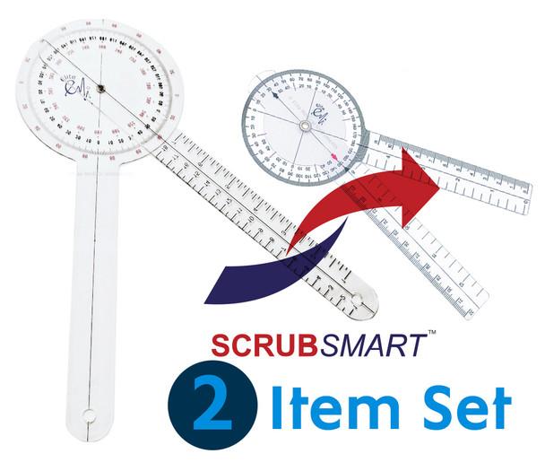 EMI 12 inch and 8 inch goniometer set