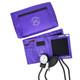 EMI Aneroid Sphygmomanometer Manual Blood Pressure Cuff - Purple