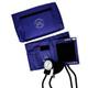 EMI Aneroid Sphygmomanometer Manual Blood Pressure Cuff - Navy