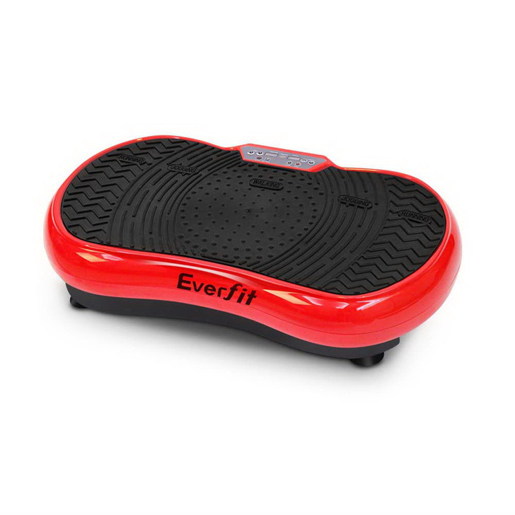 Slim Vibration Plate 1000W Exercise Fitness Massage Body Shape Power Plate Red