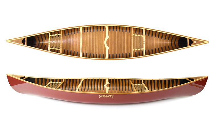 Prospector - Tandem 16' Canoe for Canoe Camping and Extended Canoe Trips