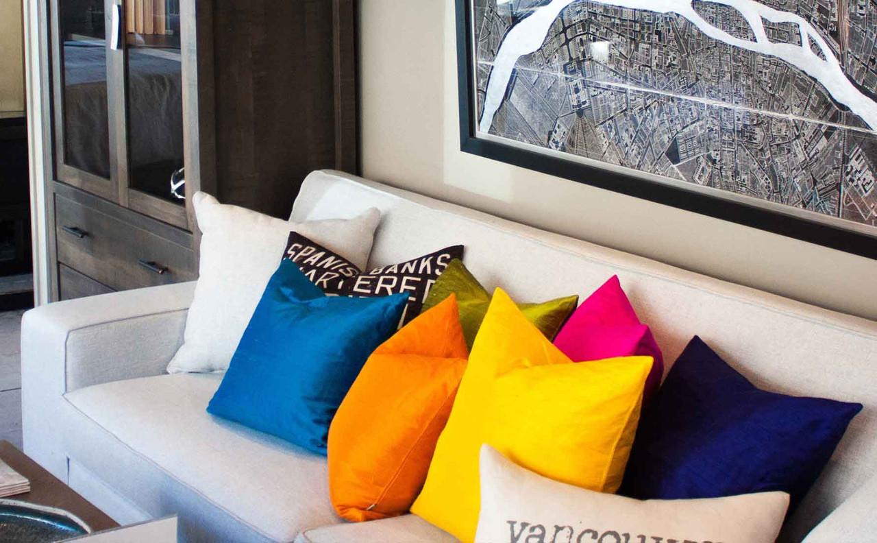 Sankara Silk Throw PIllows