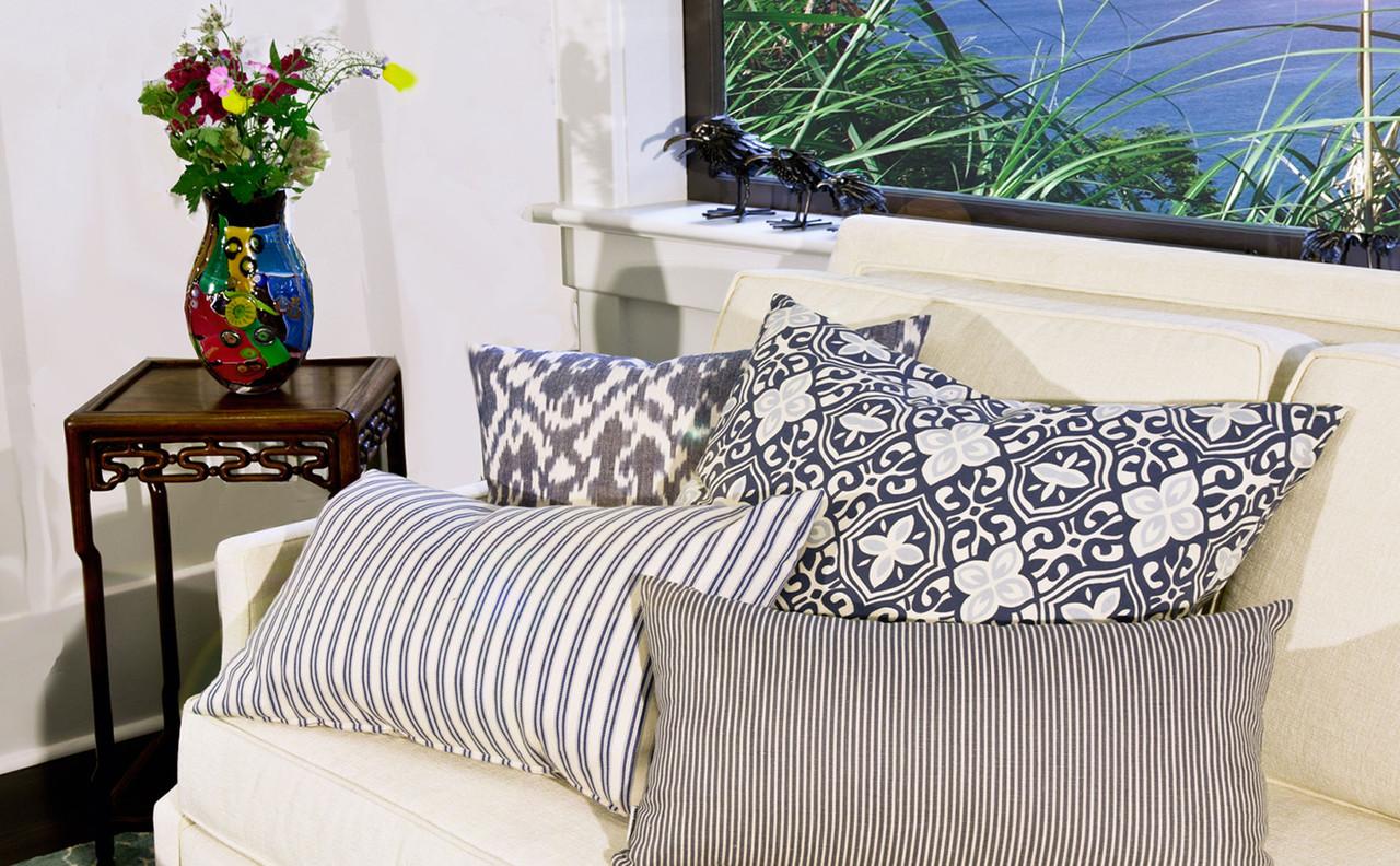 Cotton Print Pillows from Pillow Decor