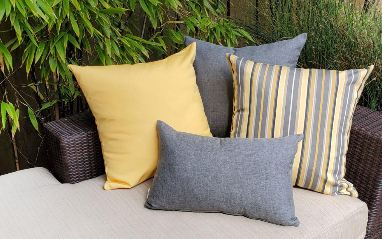 Sunbrella Outdoor Pillows from Pillow Decor
