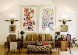 Trends in Throw Pillows: International Textiles and Tapestries