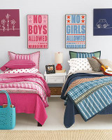 How to Decorate Shared Kids Room