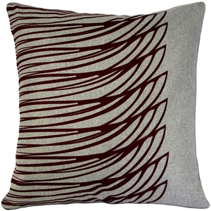 Kukamuka Meri Red Throw Pillow 19x19