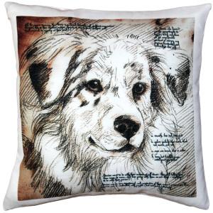 Australian Sheepdog Pillow