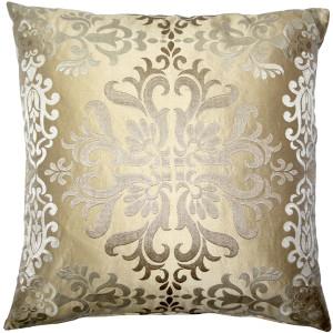 Sumatra Stargaze Embroidered Silk Pillow 21x21