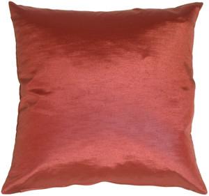 Metallic Plum Pillow