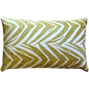 Samba Yellow 12x20 Throw Pillow