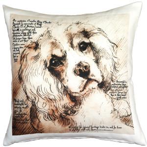 Cavalier King Charles Spaniel 17x17 Dog Pillow