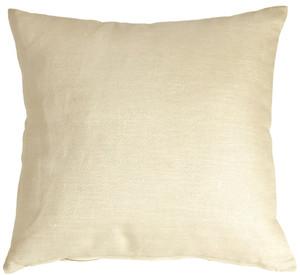 Tuscany Linen Cream 20x20 Throw Pillow