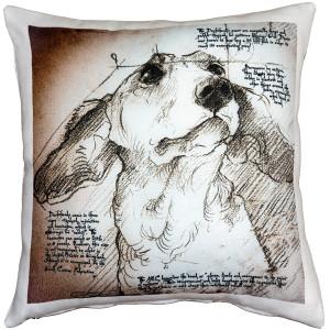 Dachshund 17x17 Dog Pillow