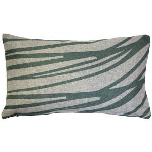 Kukamuka Meri Green Throw Pillow 12x19