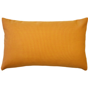Sunbrella Tangelo Orange 12x19 Outdoor Pillow