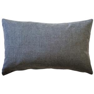 Sunbrella Cast Slate 12x19 Outdoor Pillow