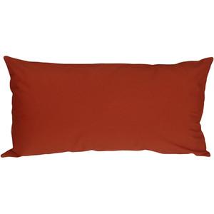 Caravan Cotton Rust 9x18 Throw Pillow