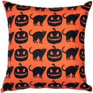 Halloween Decor Throw Pillow 17x17