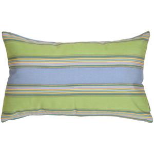 Sunbrella Bravada Limelite 12x19 Outdoor Pillow
