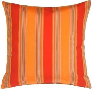 Sunbrella Bravada Salsa 20x20 Outdoor Pillow