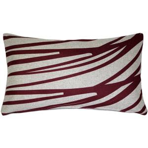 Kukamuka Meri Red Throw Pillow 12x19