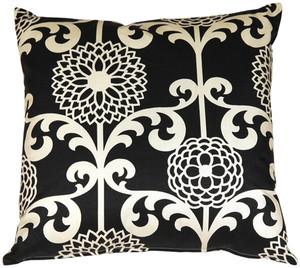 Waverly Fun Floret Licorice 20x20 Throw Pillow