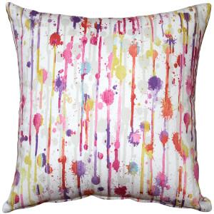 Paint Deco Fiesta Throw Pillow 15x15