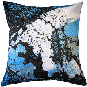 Amalfi Sea Throw Pillow 19x19