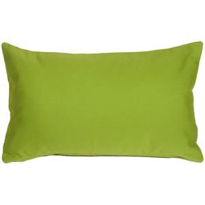 Sunbrella Macaw Green 12x19 Outdoor Pillow