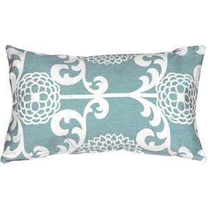 Waverly Fun Floret Spa 12x20 Throw Pillow