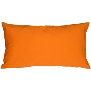 Caravan Cotton Orange 9x18 Throw Pillow