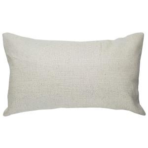 Cream Broad Weave 12x20 Throw Pillow