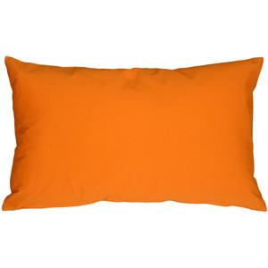 Caravan Cotton Orange 12x20 Throw Pillow