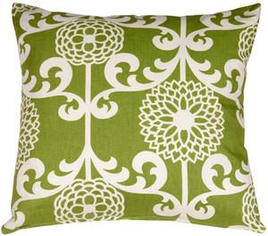 Waverly Fun Floret Spruce 20x20 Throw Pillow