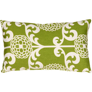 Waverly Fun Floret Spruce 12x20 Throw Pillow