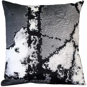 Granite Steps Throw Pillow 19x19