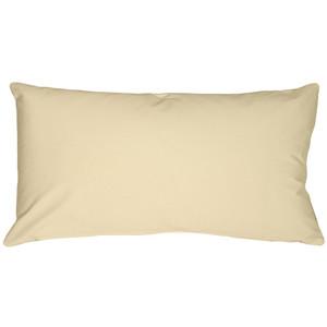 Caravan Cotton Cream 9x18 Throw Pillow
